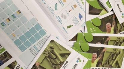 Vernieuwde MIWA-afvalkalender valt in de bus