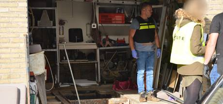 Ondergronds drugslab ontdekt in garagebox in Etten-Leur