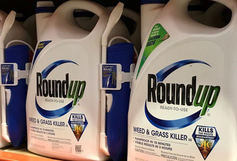 Roundup, de omstreden onkruidverdelger van Bayer. Beeld Reuters
