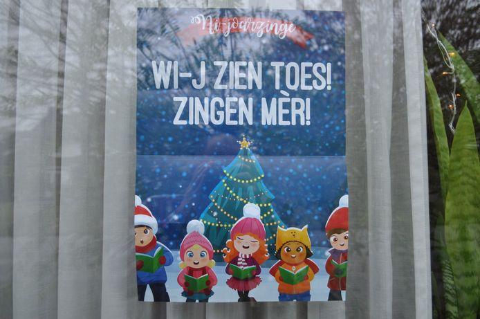 Op adressen met deze flyer voor het raam zijn de kinderen van harte welkom en kunnen ze rekenen op een beloning.
