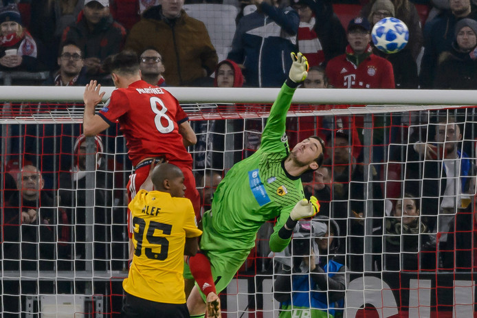 Bayern versloeg AEK Athene gisteren met 0-2.