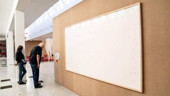 Kunstenaar int 70.000 euro, levert leeg doek en vlucht 'in naam van de kunst'