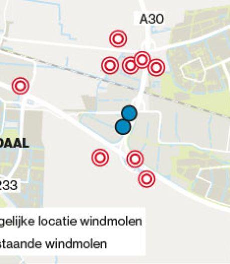 Stevig gesprek Veenendaal en Ede over plan voor Edese windmolens tegen Veenendaal aan