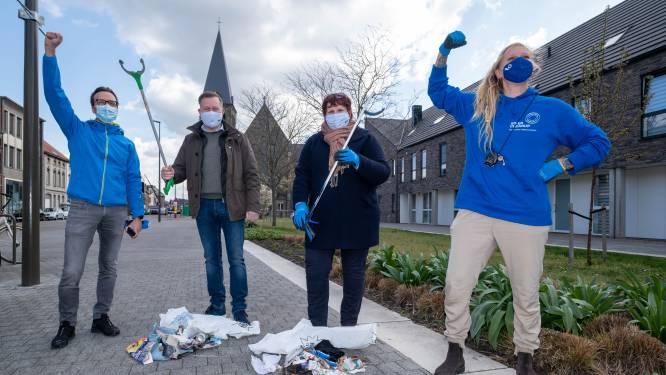 """Burgemeester en milieuschepen binden strijd aan tegen zwerfvuil: """"Reeks kleine inspanningen kan grote impact hebben"""""""