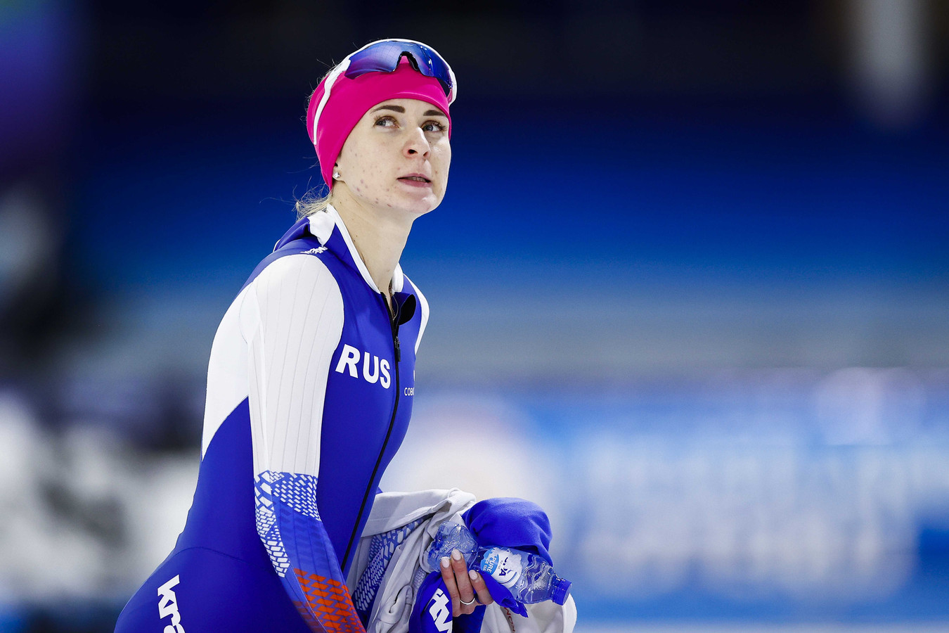Anderhalve week geleden scherpte Natalia Voronina het baanrecord aan op de 3000 meter.