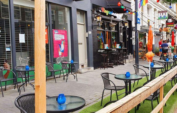 Het Rotterdamse filiaal van café de Regenboog.