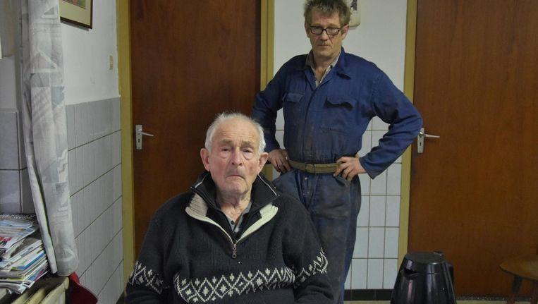 Vader Martien van der Heijden (voor) gaf commentaar bij deze foto van dochter Anne van de Pals: 'Ik wil nog niet doodgaan' Beeld Anne van de Pals