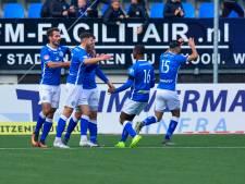Samenvatting | FC Den Bosch knokt zich in tumultueus duel naar punt tegen Excelsior