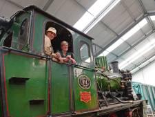 Eindelijk rijdt de stoomlocomotief van de MBS in Haaksbergen weer
