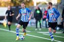 Helmonder Joey Sleegers stond vrijdag opnieuw aan de aftrap bij FC Eindhoven, maar kon zijn stempel niet drukken.