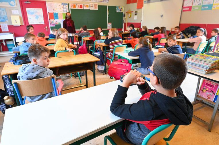 1.771 scholen deden een beroep op de hulp van studenten. Beeld Photo News