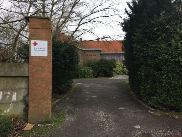 Het asielcentrum in Lint.