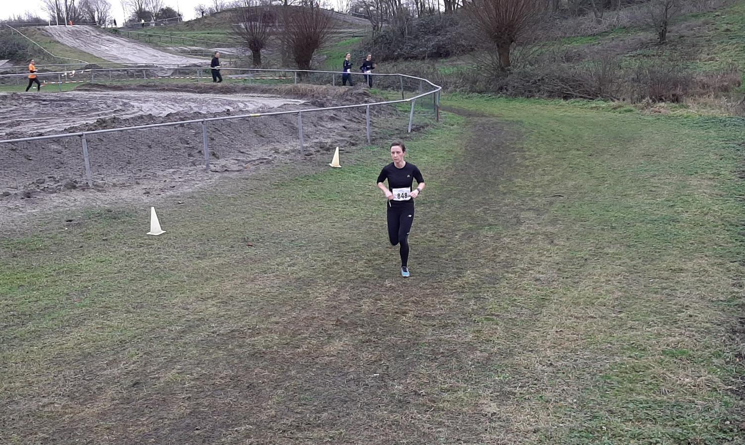 Ilse van de Wijgert op circuit De Witte Ruysheuvel.