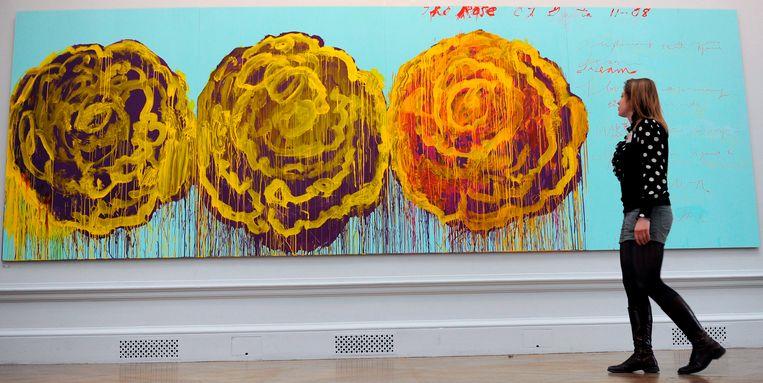 The Rose (III) van Cy Twombly. Beeld EPA