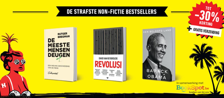 Non-fictie bestsellers Beeld HUMO