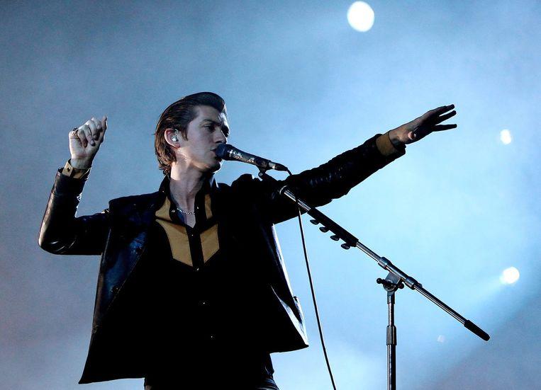 Alex Turner van Arctic Monkeys Beeld anp