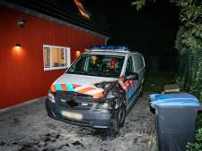Politiebus in brand gestoken in Nijmegen