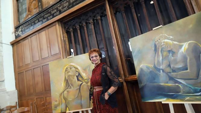 Kunst kijken in kerk met graftombe voorouders Willem van Oranje