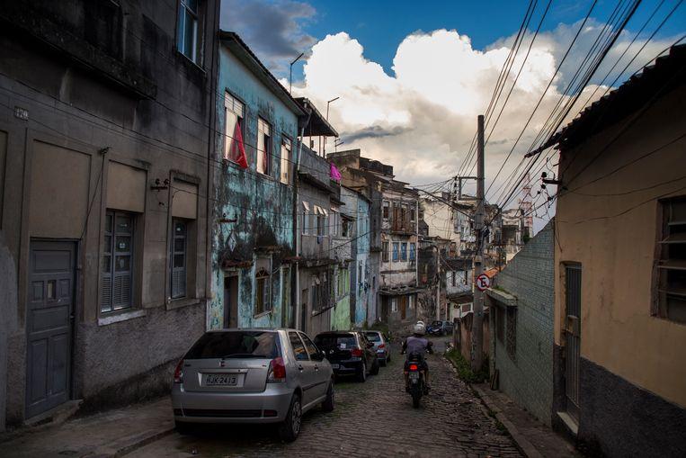 Favela da Providência, Rio de Janeiro. Beeld Valda Nogueira