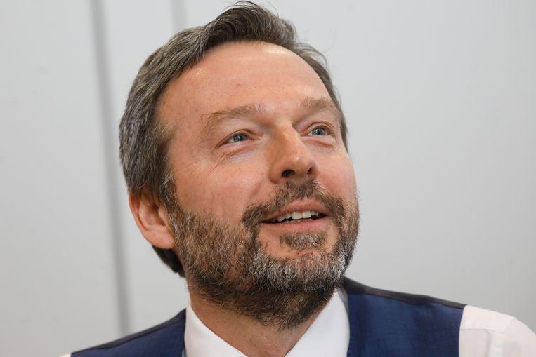 Pierre Wunsch, een optimistische gouverneur van de Nationale Bank. Beeld BELGA_INTERNAL
