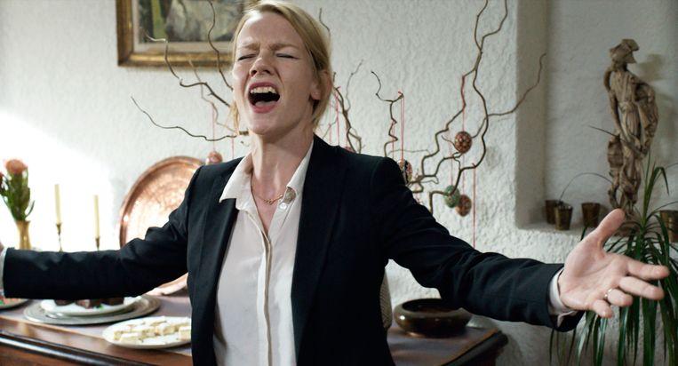 Sandra Hüller in Toni Erdmann van Maren Ade. Beeld