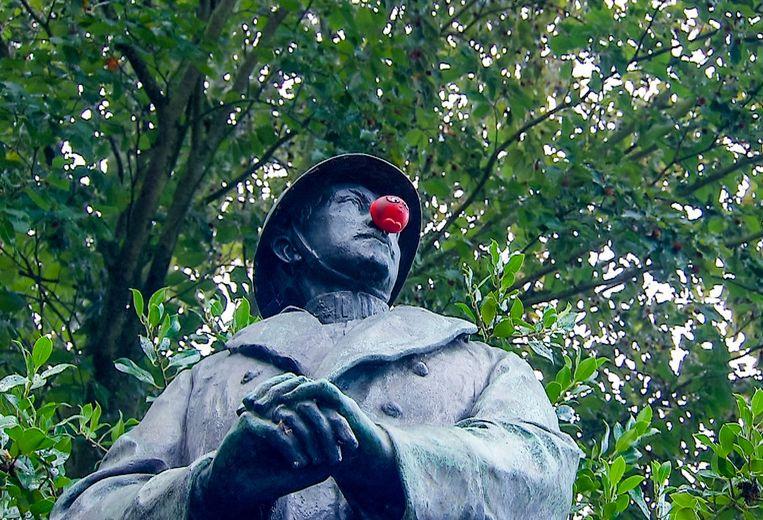 Ook 'De Buurtpolitie' doet mee aan Rode Neuzen Dag.