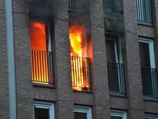 Brand verwoest woning in gloednieuw appartementencomplex aan Markendaalseweg