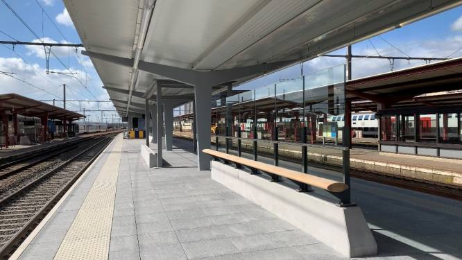 Eerste perrons van station Hasselt volledig gerenoveerd