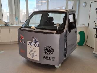 AZ Delta heeft voortaan revalidatiewagen om patiënten te leren hoe ze het best opnieuw in een wagen stappen