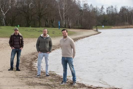 Vlnr:  Wouter Beijers, Jimmy Beijers en Jeroen Schreurs