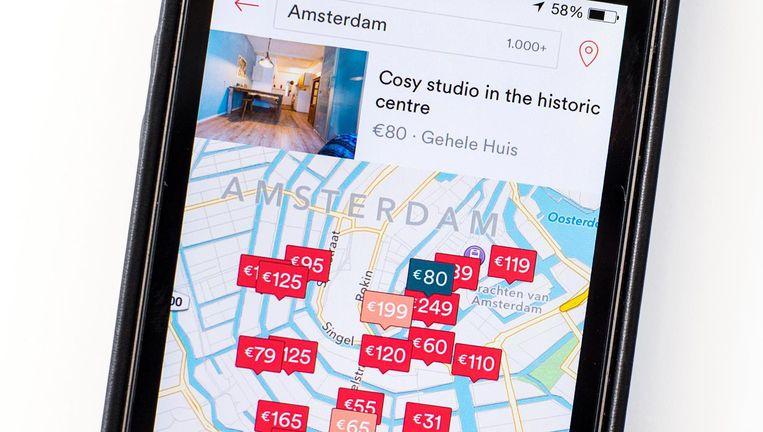 Airbnb roept verhuurders op in actie te komen tegen de gemeente. Beeld anp