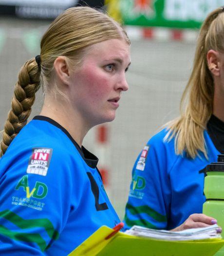 Quintus-keepster Kim van Vliet achtervolgd door pech: 'En dan gebeurt dit in de allereerste wedstrijd'