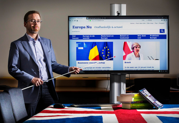 Casper van Vliet van de website Europa-nu.nl: ,,Het grootste struikelblok wordt de backstop.''