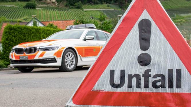 Belg (78) overleden bij ongeval op snelweg in Zwitserland