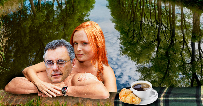 Joachim Coens en Clara Cleymans Beeld HUMO