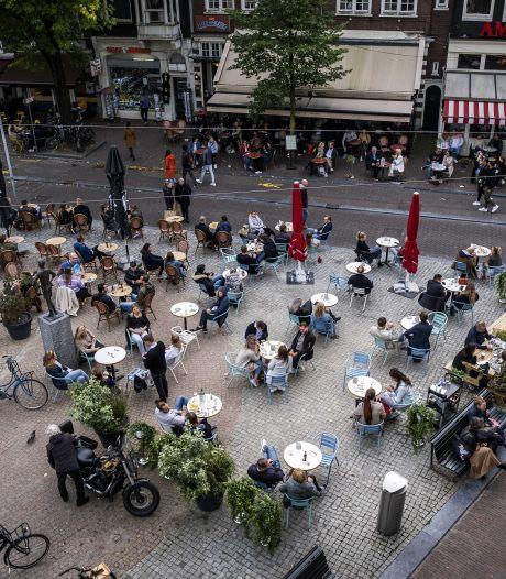 Duizenden terrassen uitgestald op 2 maart, Amsterdam doet niet mee