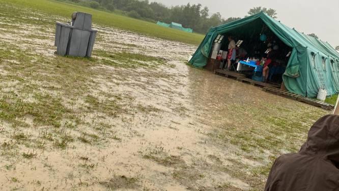 Scouts & Gidsen Vlaanderen evacueert twaalf kampen vanwege noodweer