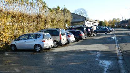 Nieuwe parking aan voetbalcomplex SK Bellem