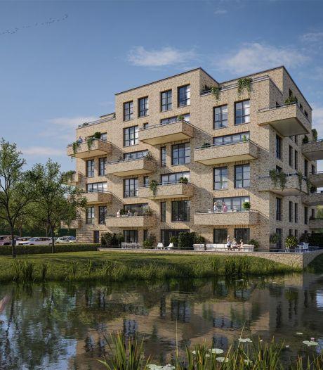 Waar vroeger turf werd gestoken, komt nu appartementencomplex Veenhuys