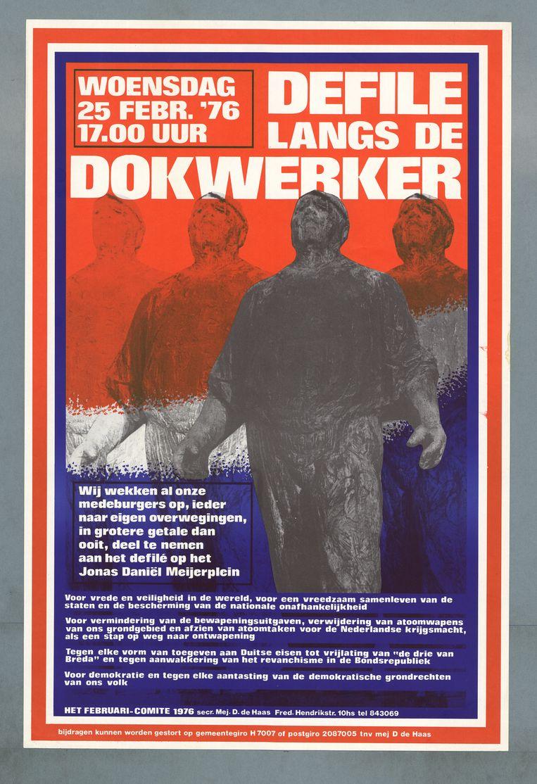 1976. Beeld Comité Herdenking Februaristaking 1941