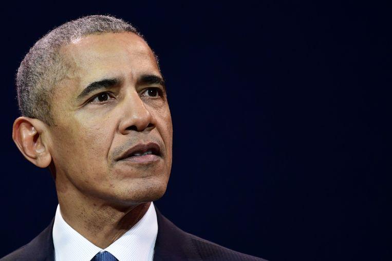 Ex-president Barack Obama.