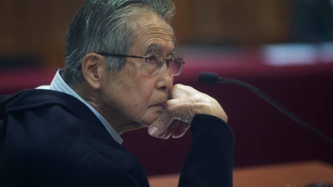 Voormalige Peruviaanse president Fujimori vraagt gratie