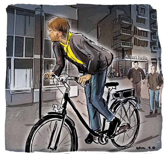 Dakloze GHB-verslaafden zonder uitkering moeten vaak stelen om eten en drugs te kunnen betalen. Scooters en fietsen zijn dan een geliefde prooi.