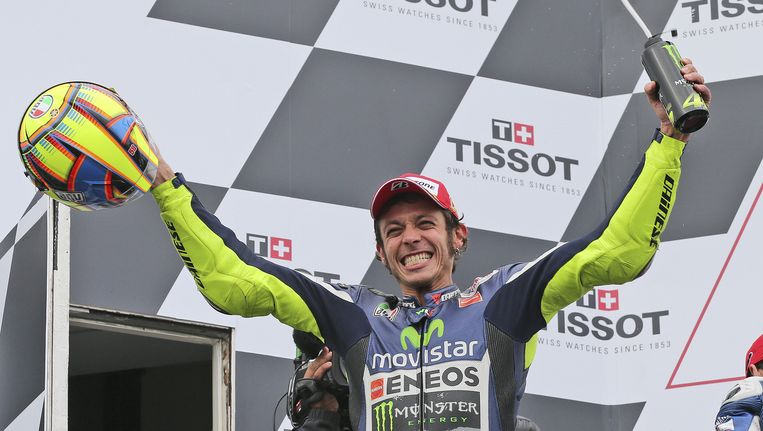 Valentino Rossi Beeld AP