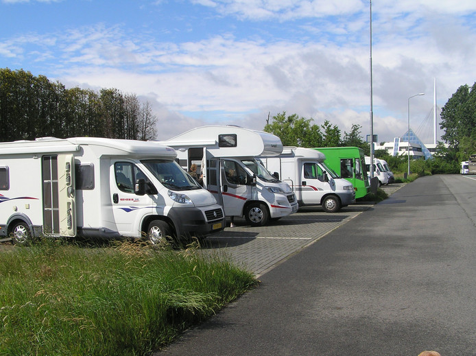 Campers Park & Ride Meerhoven.
