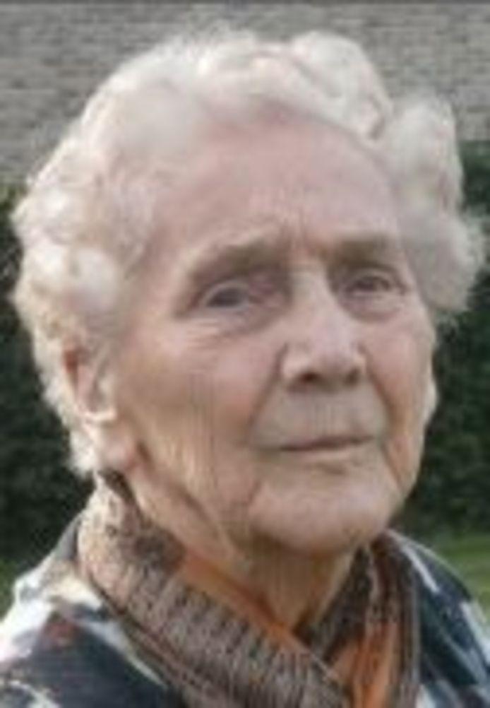 Ivonne Depuydt overlijdt dag na 100ste verjaardag.