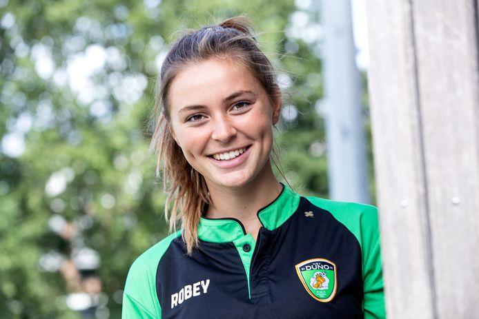 Julia Kagie verruilde ADO Den Haag voor de Haagse zaterdag-derdeklasser DUNO.