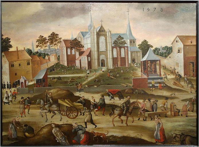 De pest in de Leuvense Sint Jacobsparochie