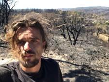 Jeroen (27) verliest alles bij natuurbrand Portugal, maar niet zijn droom: 'Ben hier om te leren'