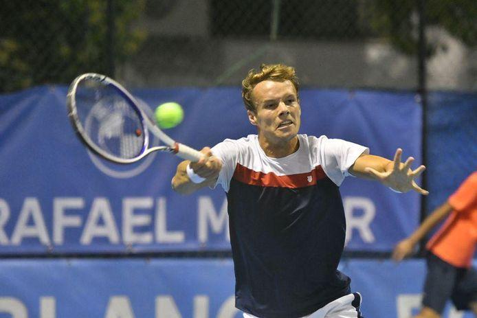 Michael Geerts won op de Challenger van Pozoblanco vijf wedstrijden op rij en sneuvelde pas nipt in halve finale.